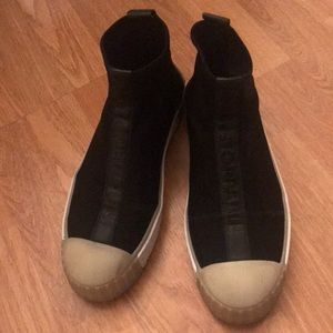 ZARA Black Sock Sneakers